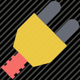 electric plug, electricity, plug, power plug, socket plug icon