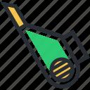 blower, blower vacuum, centrifugal fan, electronics, petrol blower icon
