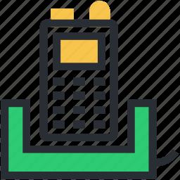 ccc, communication, digital phone, electronics, portable telephone icon