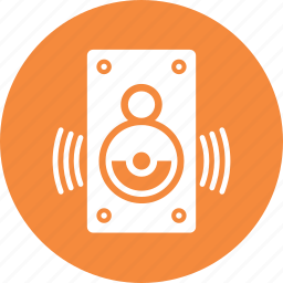 audio, loudspeaker, speaker icon