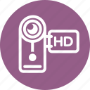 camera, movie, video icon