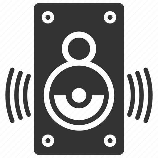 audio, loudspeaker, speaker icon