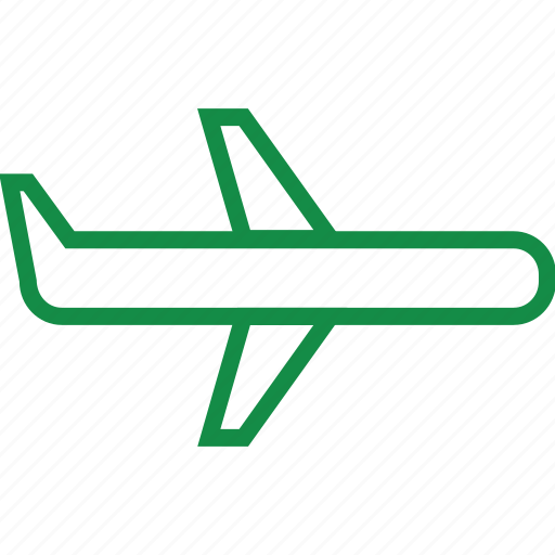 air, airplane, plane, travel icon