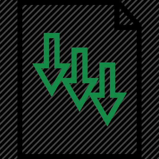 arrow, arrows, rate, revenue icon