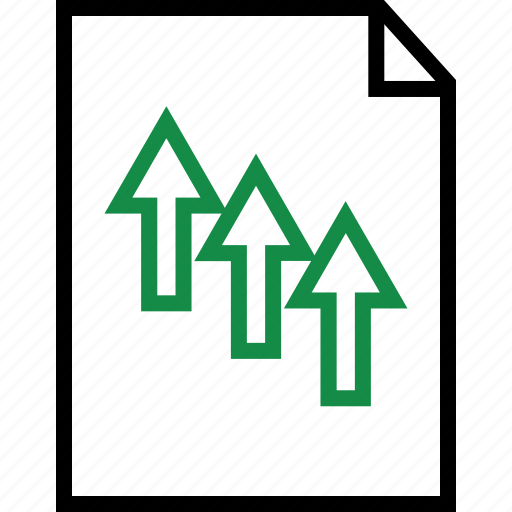 arrows, business, layout, plan icon
