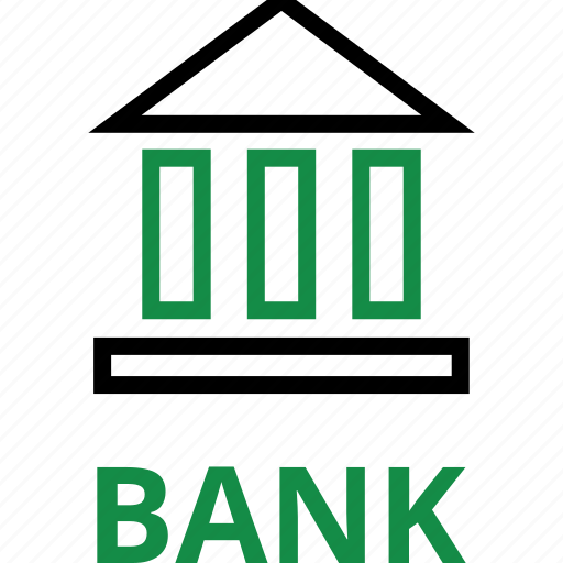 bank, interest, loan, rate icon