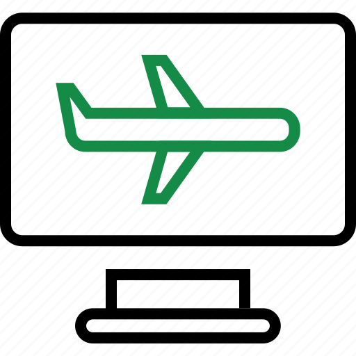 air, airplane, business, plane icon