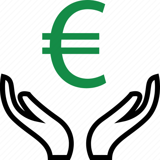 business, connect, euro, online icon