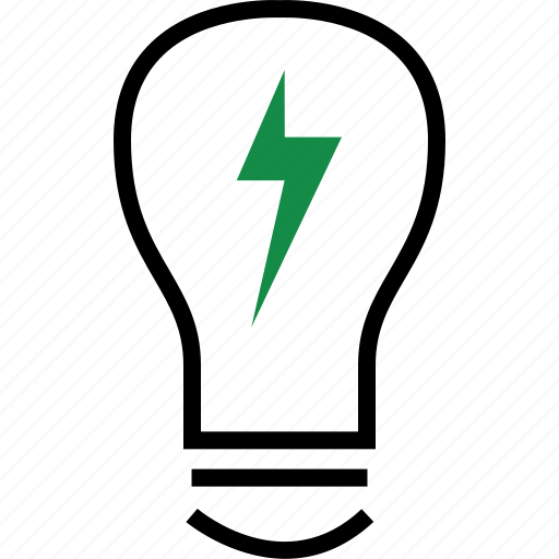 bulb, business, light icon