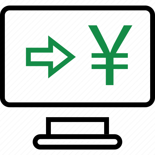 business, pay, payment, yen icon