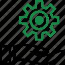 hands, options, setup icon