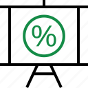 interest, percent, rate icon
