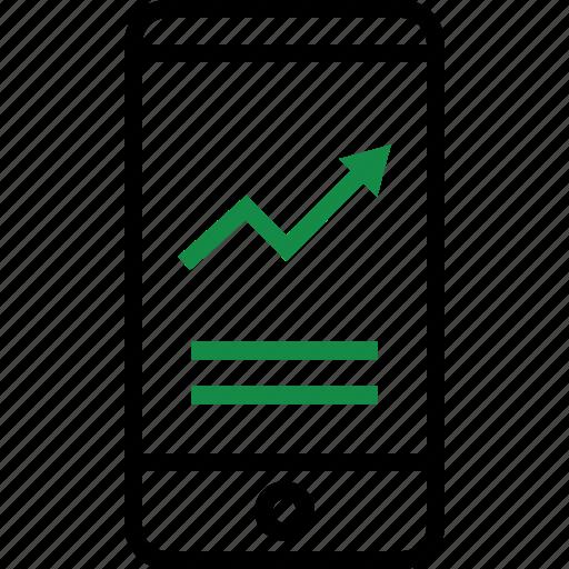 data, revenue, web icon