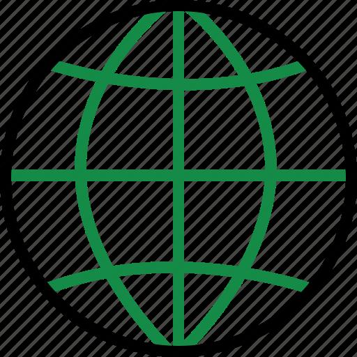 internet, web, world icon