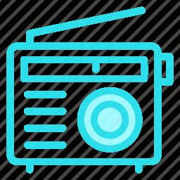 radio, signal, wirelessicon icon