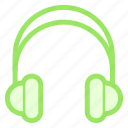 earphone, headphone, headset, listenicon icon