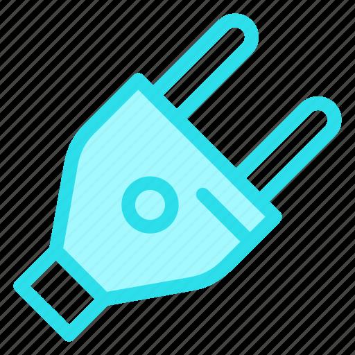 electricalplug, plug, plugconnector, plugin, powerplugicon icon
