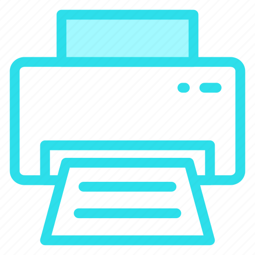 paper, print, printer, printingicon icon