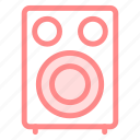 hifi, music, speakericon icon