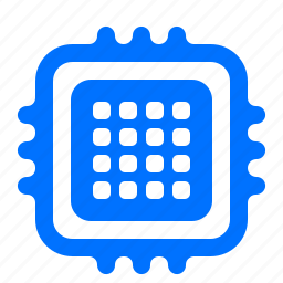 chip, device, memory, microchip icon