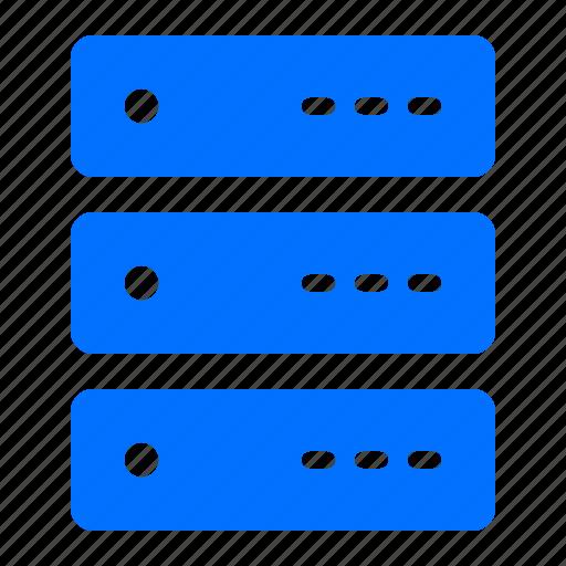 computer, memory, rack, storage icon
