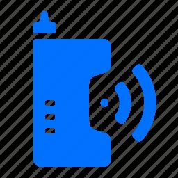 call, communication, phone, retro icon
