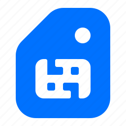 card, memory, phone, sim icon