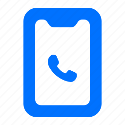 call, device, electronic, tablet icon