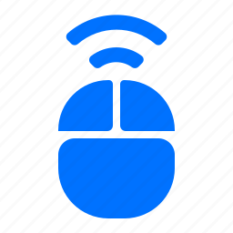 computer, electronic, mouse, wireless icon