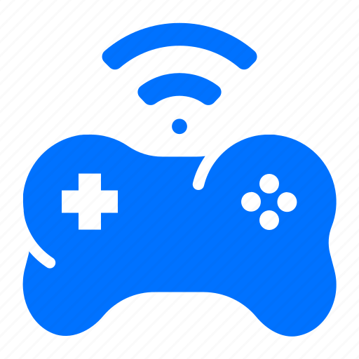 controller, gamepad, wireless icon