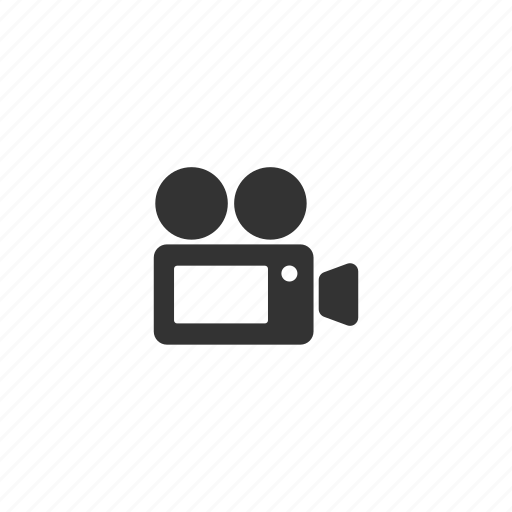 camcorder, camera, film, movie, portable, recording, reel, technology, video icon