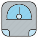 balance, electronic, scale, weight icon