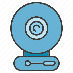 camera, device, electronic, gadget, live, record, webcam icon