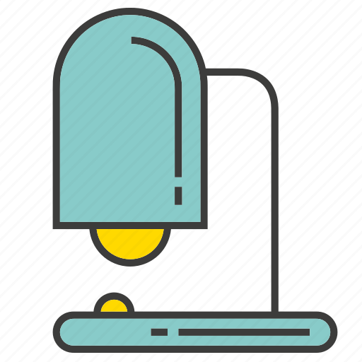electronic, furniture, lamp, light, table lamp icon