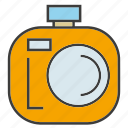 camera, device, electronic, gadget, record, tech icon