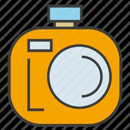 camera, device, electronic, gadget, record, tech icon