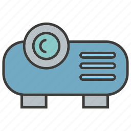 device, electronic, gadget, presentation, projector icon