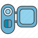 camera, electronic, gadget, record, tech
