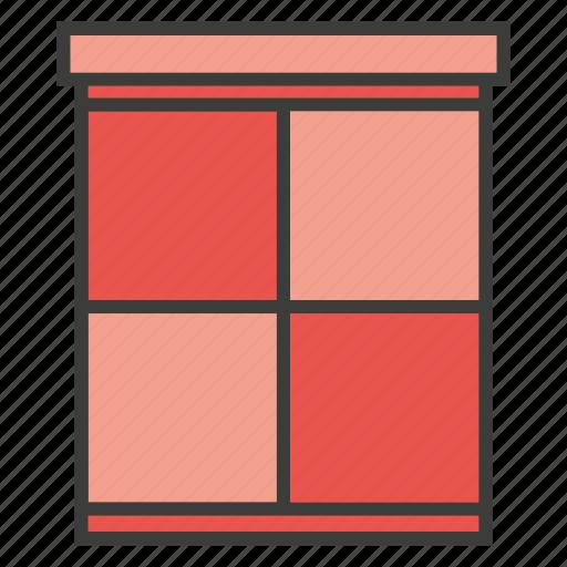 furniture, home, window icon