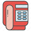 call, electronic, home phone, telephone icon