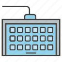 computer, device, electronic, keyboard icon