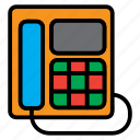 communication, conversation, electronics, phone, telephone icon