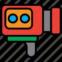 camera, movie, photography, recorder, recording, video icon
