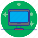 computer, display, electronics, laptop, lcd, technology icon