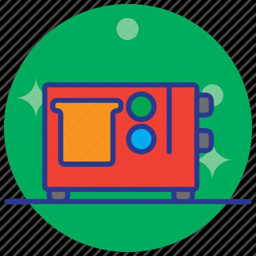 machine, technology, toast, toaster icon