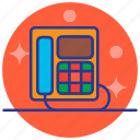 communication, conversation, electronics, phone, telephone icon