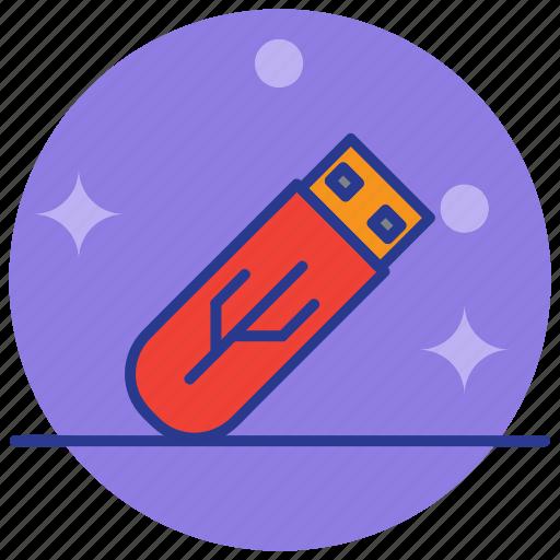 data storage, drive, flash, memory, usb icon