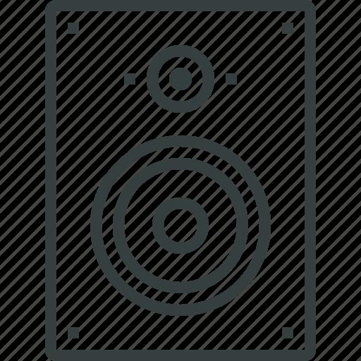audio, fi, hi, speaker icon