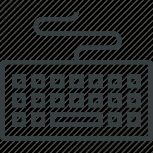 interface, keyboard icon