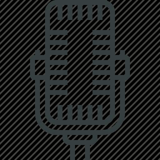 microphone, studio icon